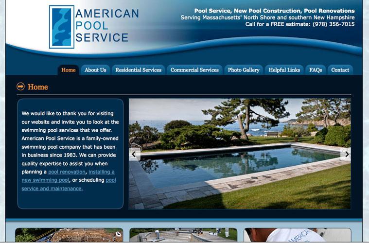 Portfolio - NH Website Design / Print Design Samples - Amber